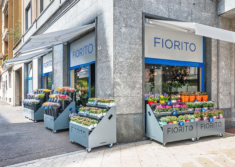 franchising italiano di negozi di fiori - fiorito - Idee Arredamento Negozio Fiori