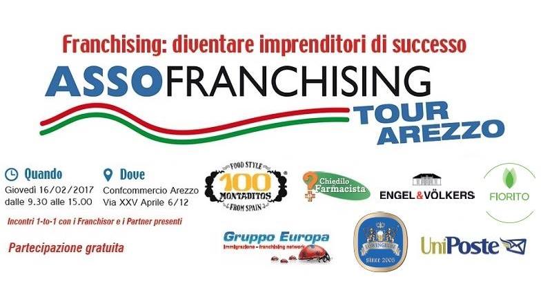 Fiorito partecipa a Assofranchising Tour 2017 Arezzo