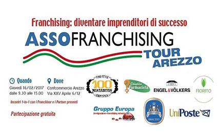 Assofranchising Tour 2017 Arezzo